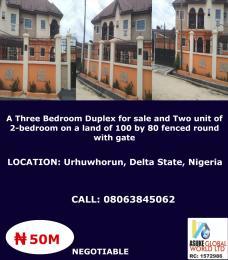 5 bedroom House for sale Urhuwhorun ,delta State Nigeria Udu Delta