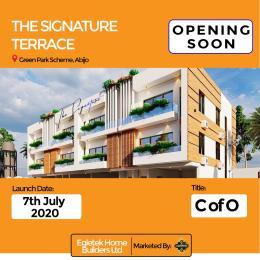 5 bedroom Terraced Duplex House for sale Green park scheme,Abijo less than 1 mins drive from lekki epe Express  Abijo Ajah Lagos
