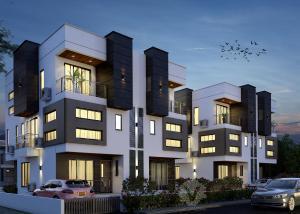 4 bedroom Semi Detached Duplex House for sale Peninsula Estate (beside Blenco Mega Mart), Sangotedo, Ajah Peninsula Estate Ajah Lagos