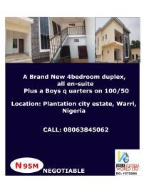 House for sale Plantation city,warri Delta state Nigeria Warri Delta