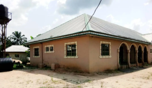 1 bedroom mini flat  Detached Bungalow House for sale Block C Ugbese Layout Off Airport Road Warri Delta