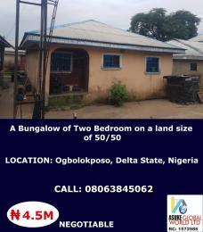 2 bedroom House for sale Ogbolokposo Okpe Delta
