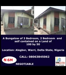 6 bedroom Detached Bungalow House for sale Alegbor Warri Delta