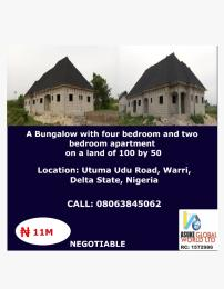 House for sale Utuma road ude warri,Delta state Nigeria Udu Delta