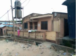 1 bedroom mini flat  Detached Bungalow House for sale Gbagada Lagos New garage Gbagada Lagos