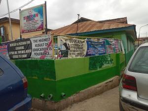 Detached Bungalow House for sale Off shyllon Palmgroove Shomolu Lagos