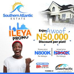 Residential Land Land for sale 15mins drive to lacamigne Tropicana Ibeju lekki, Atlantic Ocean to is south and lagoon to it north LaCampaigne Tropicana Ibeju-Lekki Lagos
