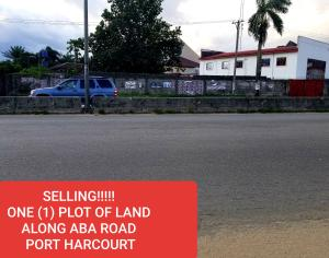 Land for sale Along PH - Aba Expressway  Port Harcourt Rivers