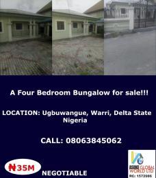 House for sale Ugbuwangwe Warri Delta state Nigeria Warri Delta