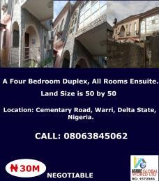 4 bedroom House for sale cementary road,Warri Delta state Nigeria Warri Delta