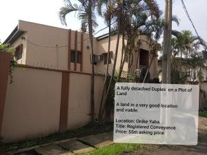 Detached Duplex House for sale Onike Yaba Lagos