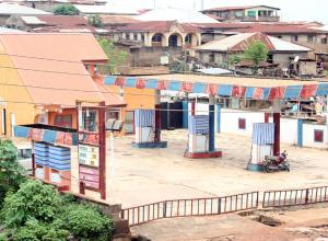 Shop in a Mall Commercial Property for sale Babanla Oremeji Road Agboluaje Bus Stop Alakia Ibadan Oyo