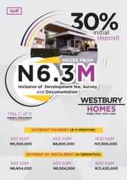 Residential Land Land for sale 3mins to sangotedo SHOPRITE. Bogije Lekki Lagos.  Sangotedo Ajah Lagos