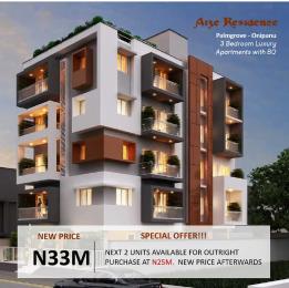 3 bedroom Flat / Apartment for sale 2 Oseni Street Palmgrove Onipanu Palmgroove Shomolu Lagos