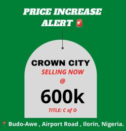 Residential Land Land for sale Ilorin Airport Road behind proposed tuyil University  Ilorin Kwara