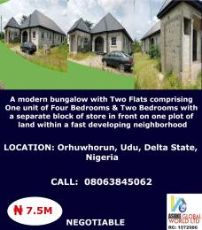 House for sale Orhuwhorun ,udu Delta state Nigeria Udu Delta
