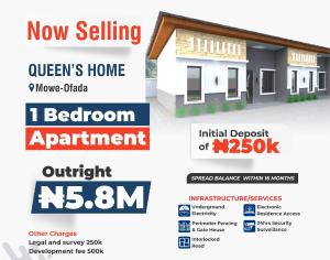 1 bedroom mini flat  Shared Apartment Flat / Apartment for sale Mowe ofada,ogun state Mowe Obafemi Owode Ogun
