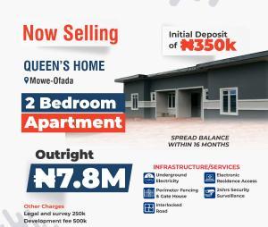 2 bedroom Shared Apartment Flat / Apartment for sale Mowe ofada,ogun state  Mowe Obafemi Owode Ogun