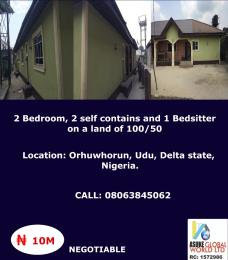 2 bedroom House for sale Orhuwhorun,  Udu Delta