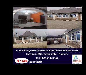 4 bedroom Detached Bungalow House for sale Dsc,  Warri Delta