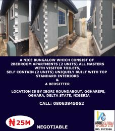 2 bedroom House for sale By Ibori round about, Ogharaefe Oghara Ethiope West Delta