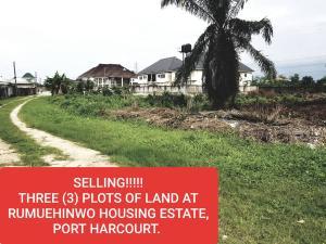 Residential Land Land for sale Rumuehinwo Housing Estate  Eliozu Port Harcourt Rivers