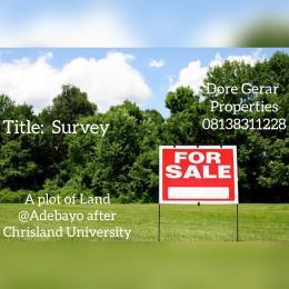 Residential Land Land for sale Adebayo after Christland University Idi Aba Abeokuta Ogun