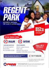 Residential Land Land for sale Regent park  Awoyaya Ajah Lagos