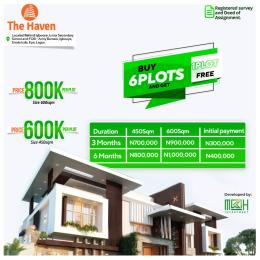 Residential Land Land for sale the heaven estate Epe Lagos