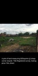 Land for sale Sharp corner, oluyole extension Oluyole Estate Ibadan Oyo