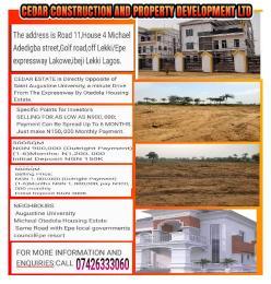 Flat / Apartment for shortlet Ibeju-Lekki Lagos