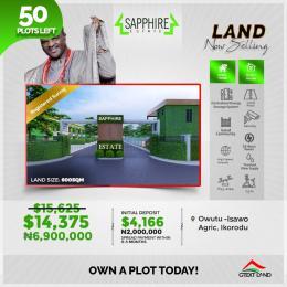 Serviced Residential Land for sale Ikorodu Lagos