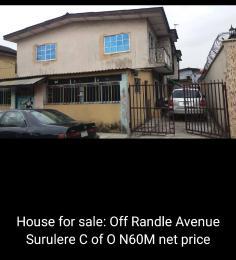 3 bedroom Blocks of Flats House for sale Randle surulere Randle Avenue Surulere Lagos