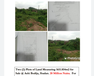 Mixed   Use Land Land for sale Ashi Bodija Ibadan Oyo