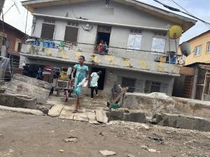 Blocks of Flats House for sale Off Bajuliaye Road Shomolu Shomolu Lagos