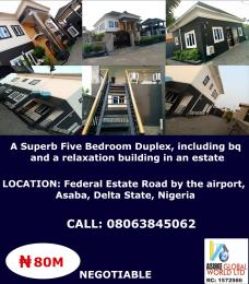 House for sale Federal estate road by the airport Asaba ,Delta state Nigeria Asaba Delta