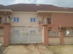 4 bedroom Terraced Duplex House for rent Lifecamp district by Lento Aluminum Abuja Life Camp Abuja