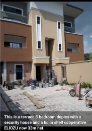 3 bedroom Terraced Duplex House for sale Eliozu Port Harcourt Rivers