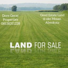 Residential Land Land for sale Oke Mosan Abeokuta Ogun