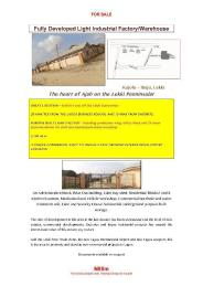 Warehouse Commercial Property for sale Kajola Eputu Ibeju-Lekki Lagos