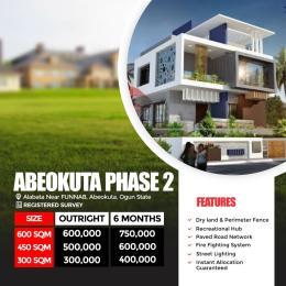 Residential Land Land for sale Abeokuta Phase 2, Alabata Near Funaab Alabata Abeokuta Ogun