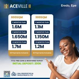 Residential Land for sale Eredo Epe Lagos