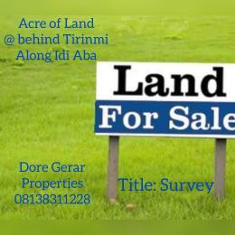 Residential Land Land for sale Behind Tirinmi Idi Aba Abeokuta Ogun