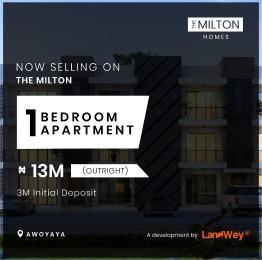 1 bedroom mini flat  Flat / Apartment for sale Milton Estate Behind Coscharis Motors Awoyaya Majek Sangotedo Lagos