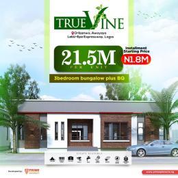 3 bedroom Detached Bungalow for sale Oribanwa, Truevine Estate Oribanwa Ibeju-Lekki Lagos