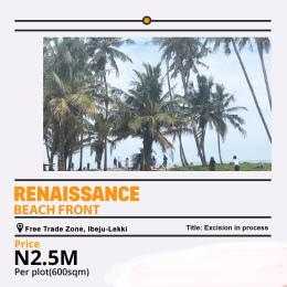 Mixed   Use Land Land for sale Renaissance beachfront estate Lekki free trade zone  Free Trade Zone Ibeju-Lekki Lagos