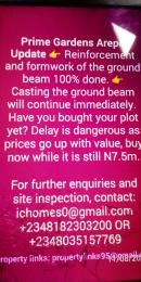 Residential Land Land for sale Arepo, Berger, five minutes drive from mile 12 bus stop  Berger Ojodu Lagos