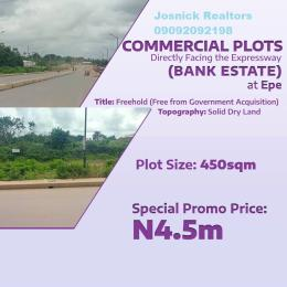 Commercial Land Land for sale Epe Road Epe Lagos
