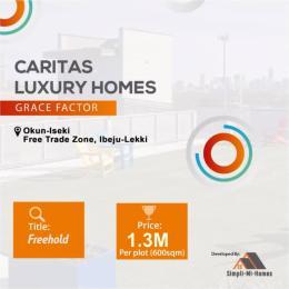 Residential Land for sale *caritas Luxury Home Grace Factor Okun Iseki Free Trade Zone Ibeju-Lekki Lagos