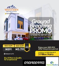 Residential Land for sale Ikola Road Alagbado Abule Egba Lagos